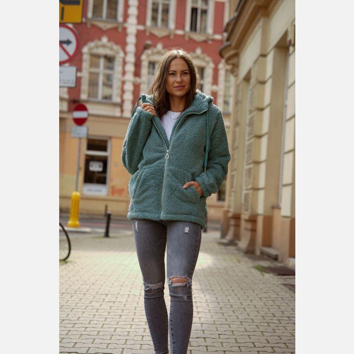 Bluza Damska temster- morska zieleń - 23524