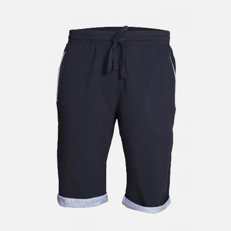 Męskie spodnie krótkie granatowe 57148