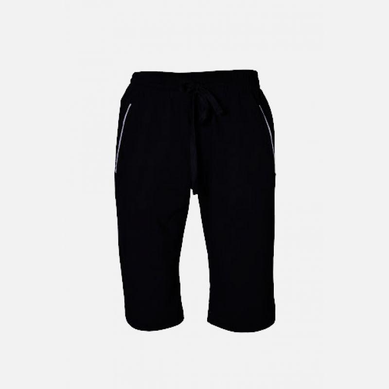 Męskie spodnie krótkie czarne 57148