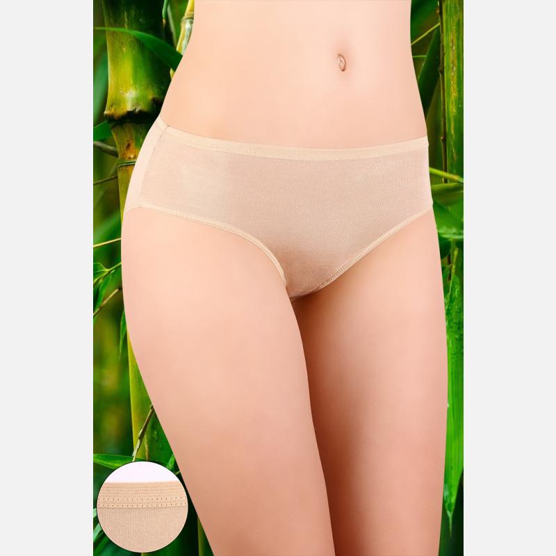 Majtki damskie 3 pak figi włókno bambusowe mix kolorów - 905