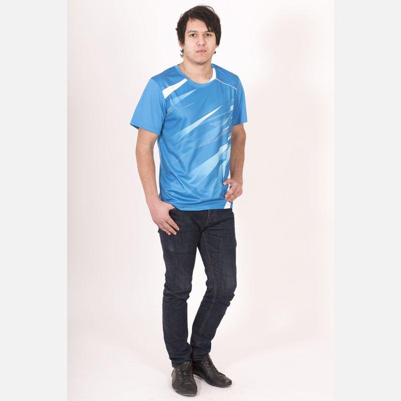 Sportowa Koszulka Termo Błękit 28031