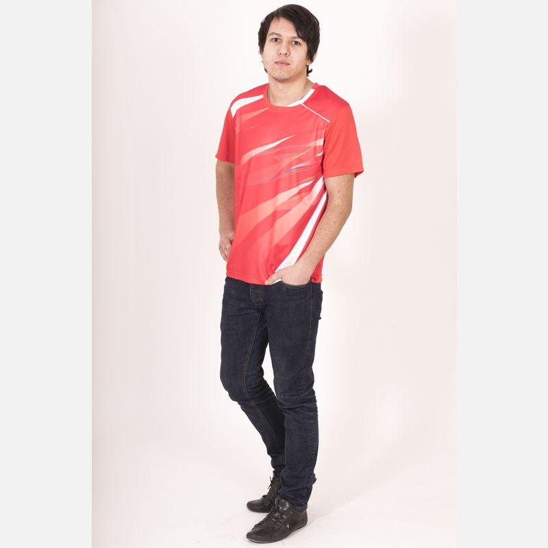 Sportowa Koszulka Termo Czerwona 28031
