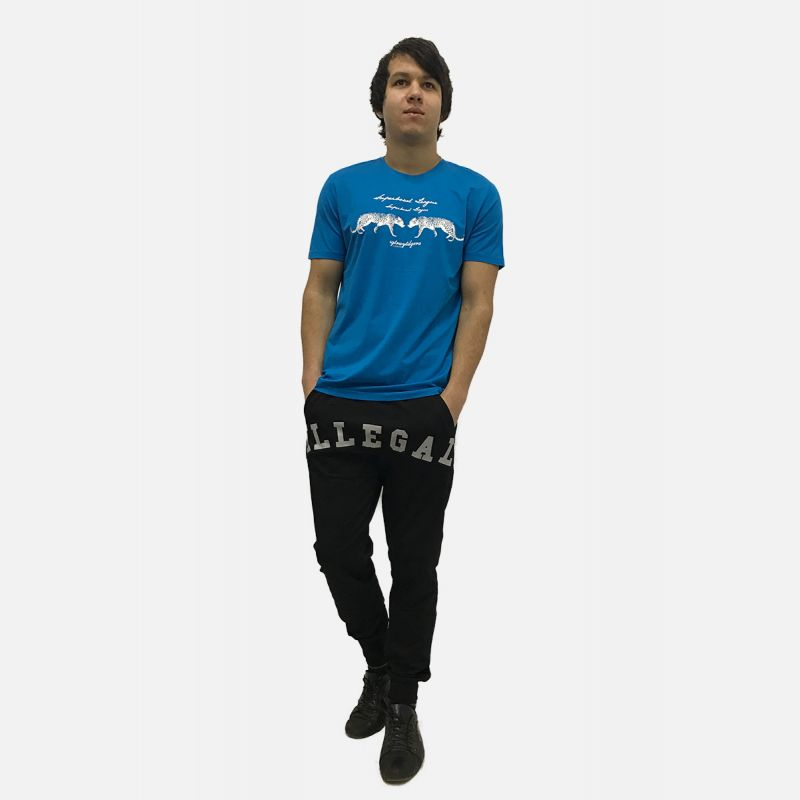 Koszulka Męska Benter - Niebieska 16644