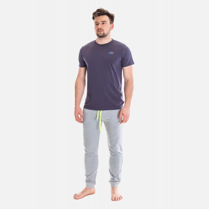 Koszulka Męska Benter - Grafitowa 65205