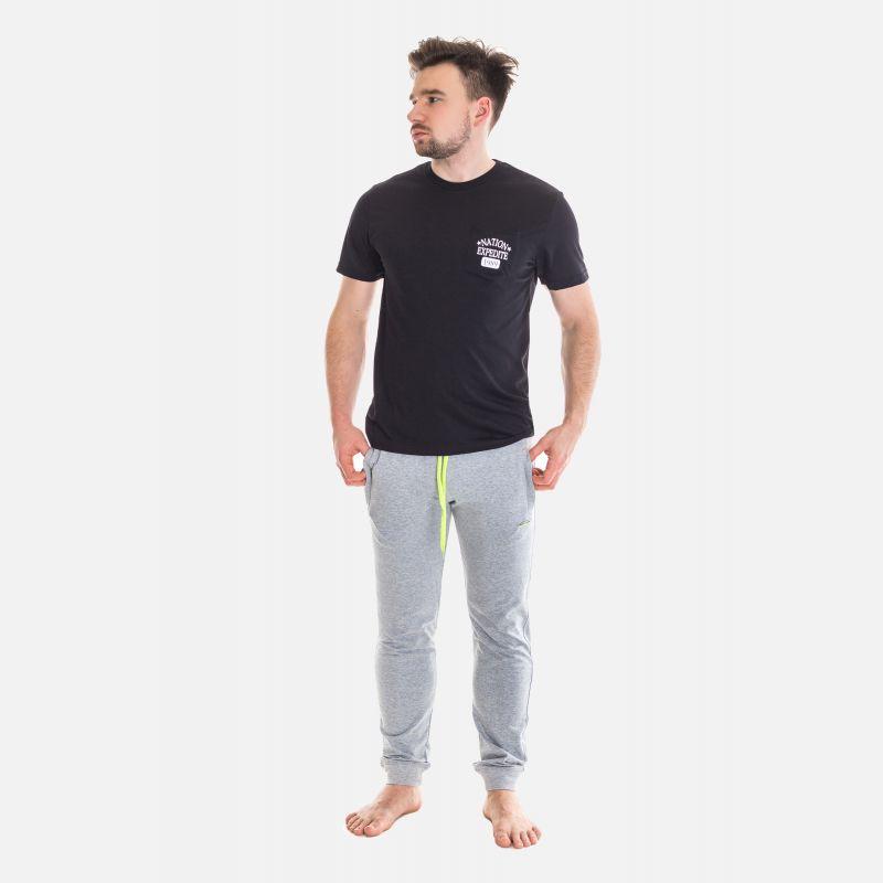 Koszulka Męska Benter - Czarna 67306