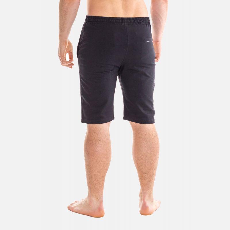 Spodnie Męskie Dresowe Krótkie - Czarne 67372