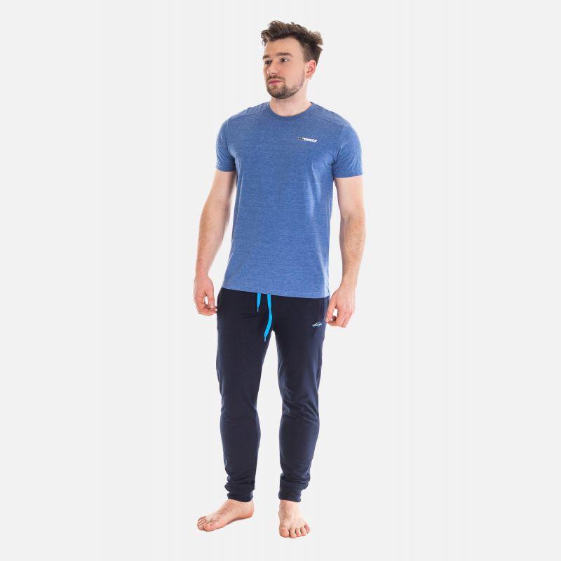 Koszulka Męska Benter - Granatowa  65203
