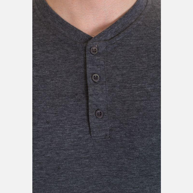 Koszulka Męska Benter - Ciemno - Szara 67309