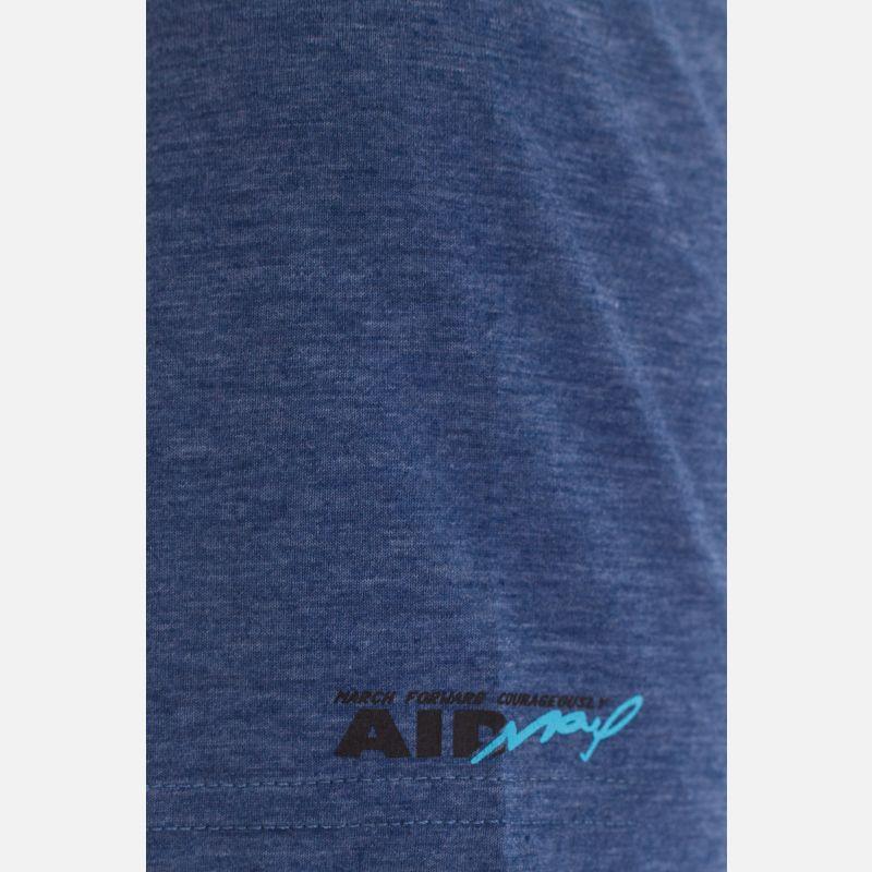 Koszulka Męska Benter - Granatowa 67309