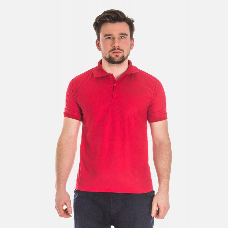 Koszulka Męska Polo - Czerwona 17534
