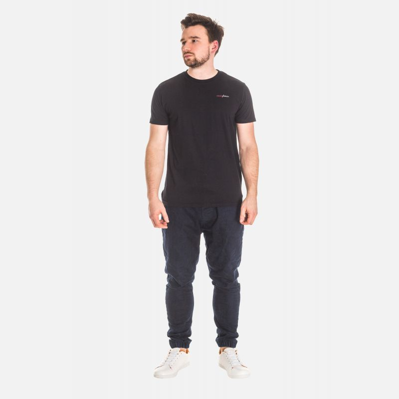 Koszulka Męska Bawełniana - Czarna 65202