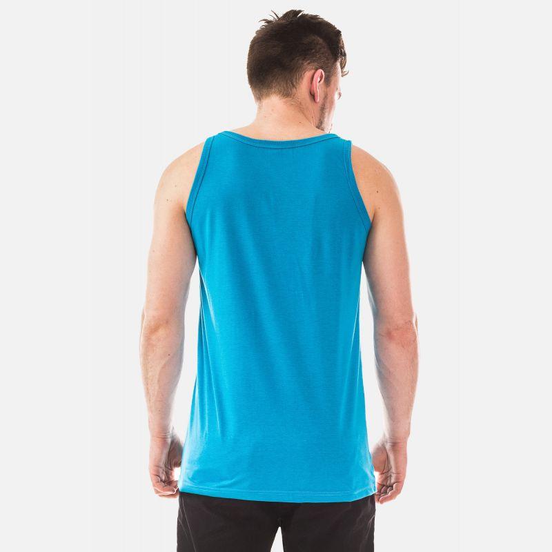 Top Męski - Koszulka Benter - Niebieska (65210)
