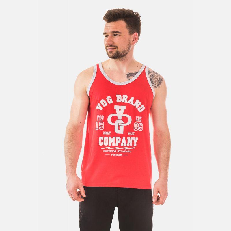 Top Męski - Koszulka Benter - Czerwona (65208)