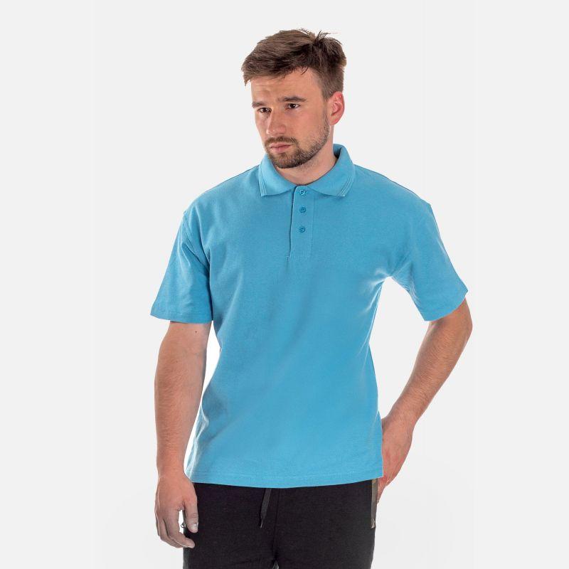 Koszulka Męska Polo - Niebieska (001)