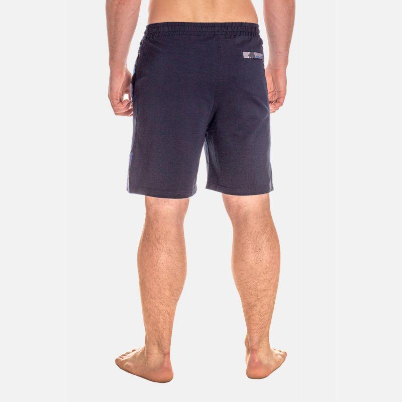 Spodnie Męskie Dresowe Krótkie - Granatowe 67379