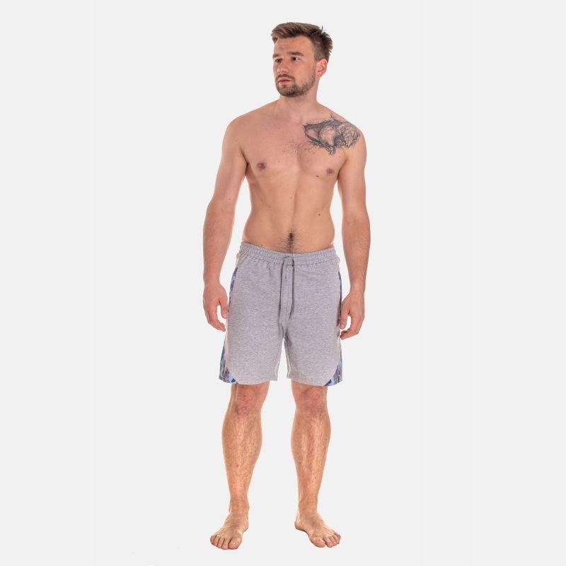 Spodnie Męskie Dresowe Krótkie - Szare 67379
