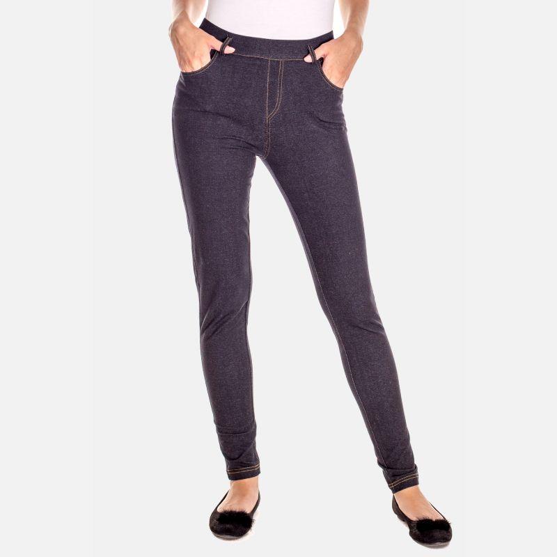 Spodnie Damskie Jegginsy - 46416 Czarne