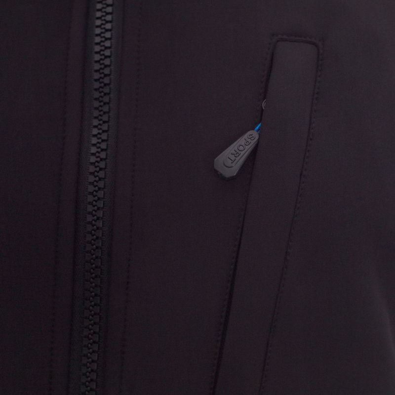 Kurtka męska GENSTER typu: Softshell - Granatowa 12806