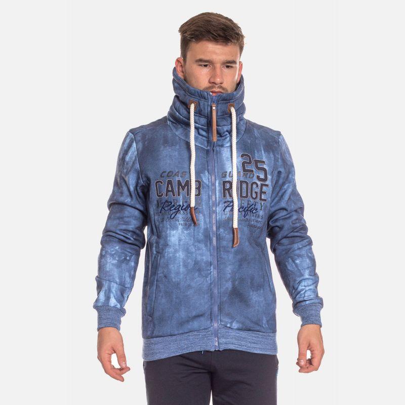 Bluza Męska Benter - Niebieska (57462)