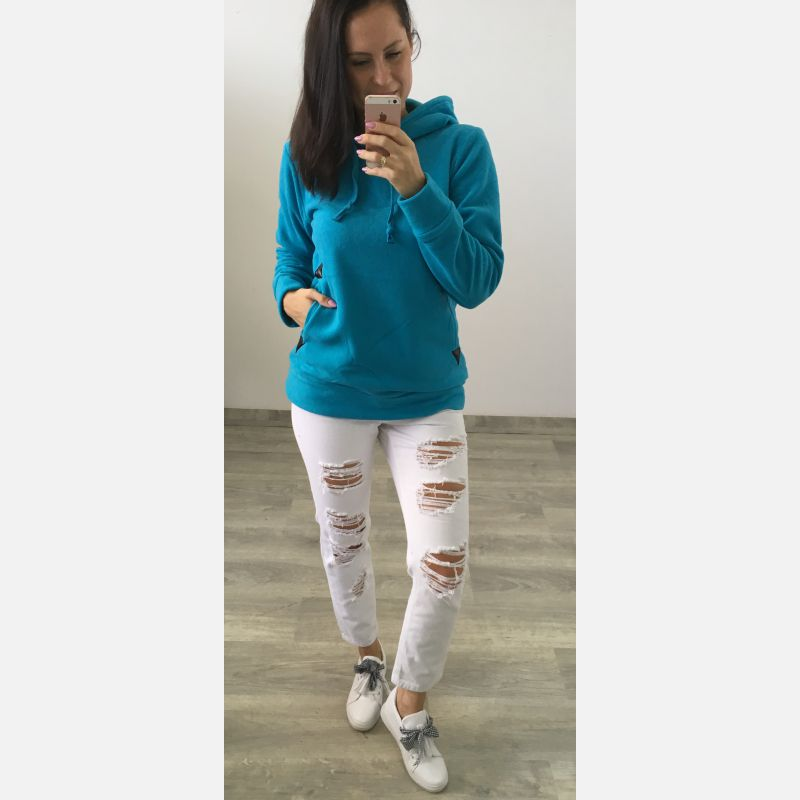 Bluza Damska Sport Mode - Niebieska (81291)