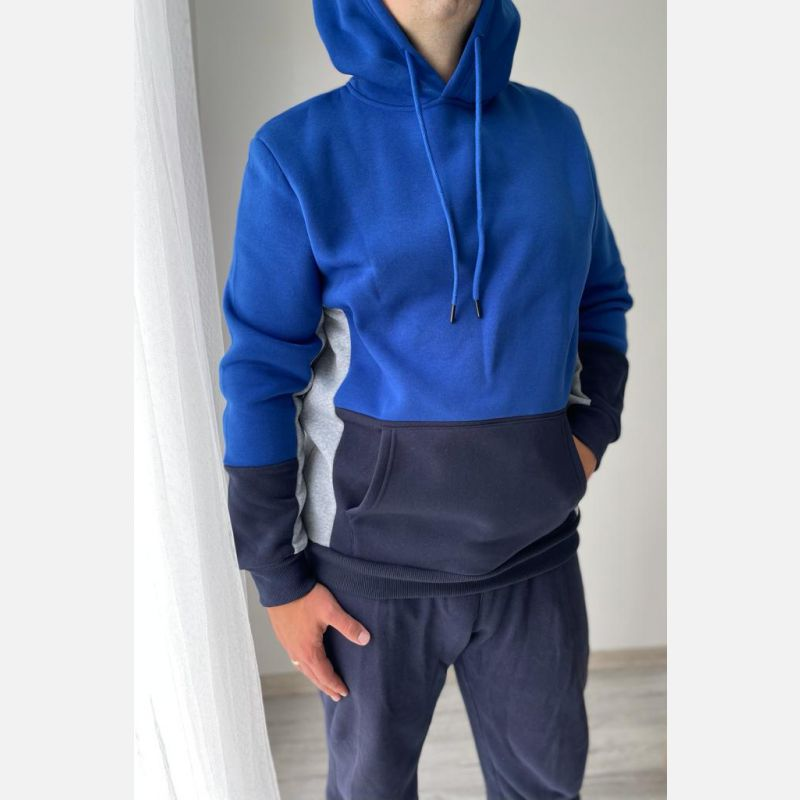 Bluza Męska Benter - 28268 niebieska